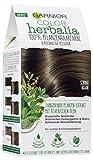 Garnier Color Herbalia Schokobraun, 100 % Pflanzenhaarfarbe, pflanzliches Colorieren, vegan, 3er...