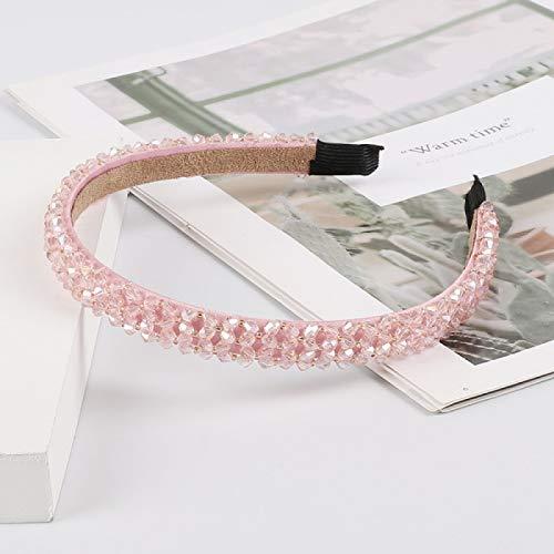 RONGXIANMA Kopfbedeckung Mädchen Glänzend Luxus Strass Stirnband Diamant Stirnband...