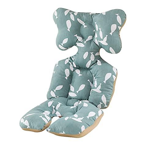 TLM Toys Funda de asiento para cochecito de bebé, con acolchado de algodón grueso, manta extraíble para el invierno, transpirable, funda para cochecito