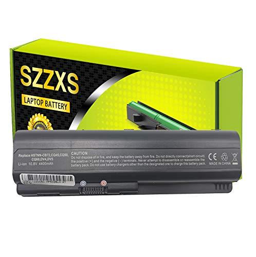 Batería de Repuesto HSTNN-CB72 para HP Compaq Presario CQ40 CQ41 CQ45 CQ50 CQ60 CQ61 CQ70 CQ71 /HP G50 G60 G70 /HDX16 /Pavilion DV4 DV5 DV6 Portátil Bateria 10.8V 4400mAh