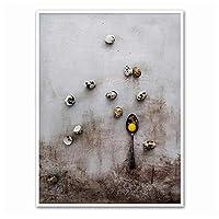 LIUYUEKAI モダンなスタイルのキッチン用品ポスター壁アートキャンバス絵画リビングルームの家の装飾のための印刷写真-40x50cmフレームなし
