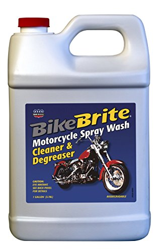 Bike Brite MC441G Motorcycle Spray Wash Cleaner and Degreaser - 1 Gallon