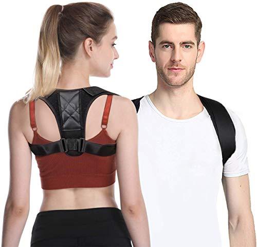 Geradehalter zur Haltungskorrektur Posture Corrector Haltungstrainer Schulter Rückenstütze Rücken Haltungsbandage mit verstellbare Größe für Männer und Frauen,verstellbar & atmungsaktiv