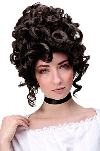 Wig Me Up - Parrucca Di Qualità Colore Castano Aaltissima, Barocco Rococò, Nobile, Maria Antonietta Gfw1675-6