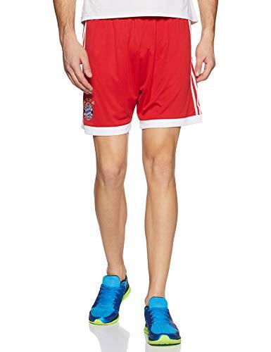 adidas Herren FC Bayern Heim Shorts, FCB True Red/White, L