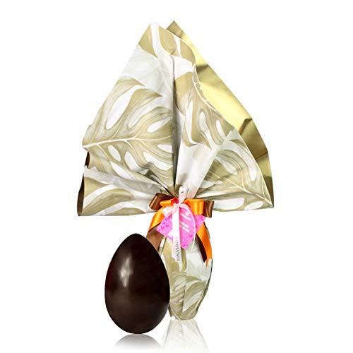 Rinaldini Huevo de Pascua de Chocolate Negro 55% Cacao | con Sorpresa | 300 Gramos