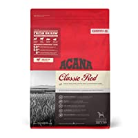 Dogs are not only capable of eating the foods of their ancestors, they actually require it for peak health Brimming with richly nourishing meats, ACANA Classic Red features local ranch-raised Angus beef, Yorkshire pork and grass-fed lamb that are del...