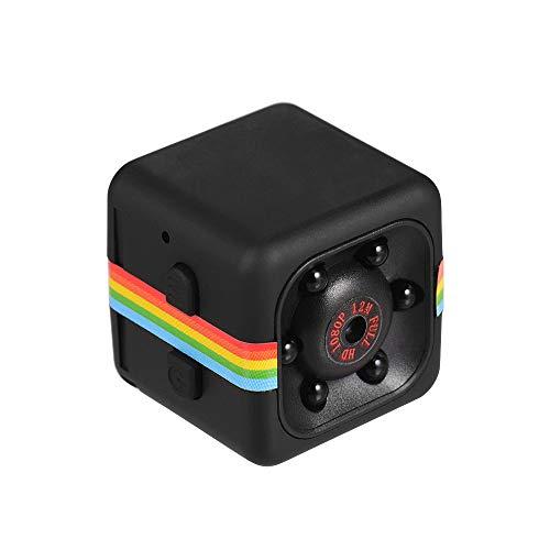 Mini telecamera cubica 1080P HD IR Night Vision 120 ° grandangolo 32 GB di memoria