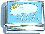 Cloud With Rain Italian Charm
