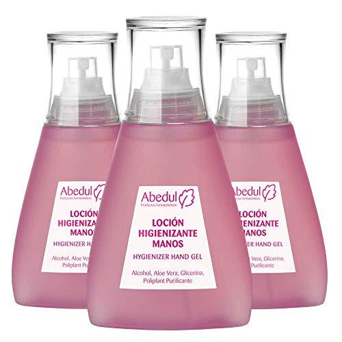 Spray Desinfectante Manos 120 ML | Alcohol 70% | PACK 3 UDS | Gel Desinfectante Manos | Gel Hidroalcoholico Manos Pequeño | Aloe Vera Glicerina Hidroalcohol