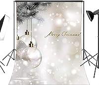 HD クリスマスボールビニールの写真の背景のカスタマイズ写真の背景メーカープロップSD212 7x10ft