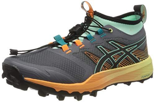 Asics Fujitrabuco Pro, Zapatillas de Correr Mujer, Negro, 39.5 EU