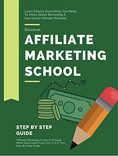 Affiliate Marketing School Ebook and Videos MRR : step-by-step guide you need if you want to get started with affiliate marketing (English Edition)