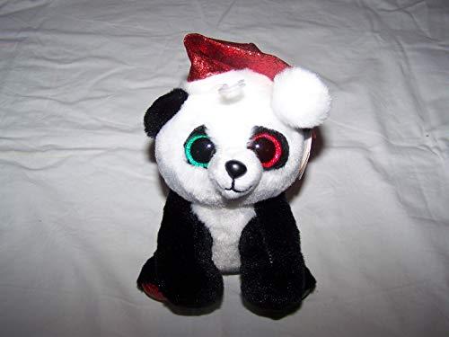TY/Beanie Boos 6' CHRISTMAS EDITION - Pandy Claus the Panda - Perfect Plush!