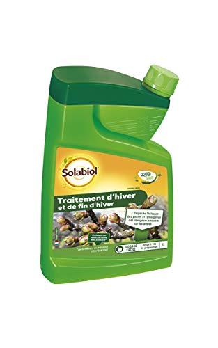 Solabiol SOHIV1 Traitement Fin d'hiver 1L, Insecticide Préventif