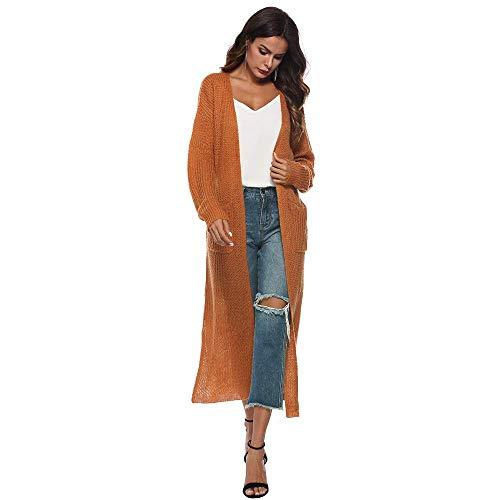 BOLAWOO-77 Damjackor ärm lång höstrea kvinnor öppen mode märken cape casual rock blus kimono jacka cardigan vardaglig varm jacka