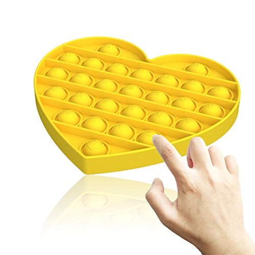 QETRABONE Fidget Sensory Stress Bubble Toy, Fidget Push Toy for Kids, Pop Silicone Stress Toys for...