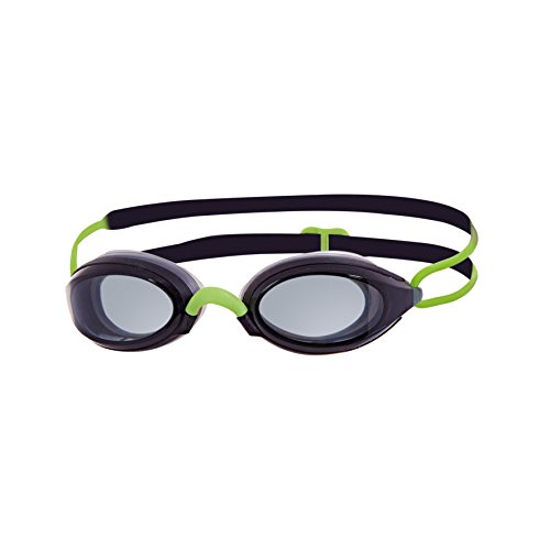 Zoggs Schwimmbrille Fusion Air, black/green/smoke, one size
