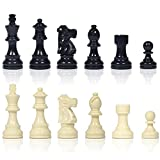 XWDQ Único Juego de ajedrez en Forma de Staunton, Placa magnética Plegable y de Peluche, Juego de 3D de 18