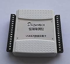 USB data acquisition card DAQ 8-channel 14-bit AD 48K Real-time sampling 2DA 12DI/DO Labview, Replace USB-6009