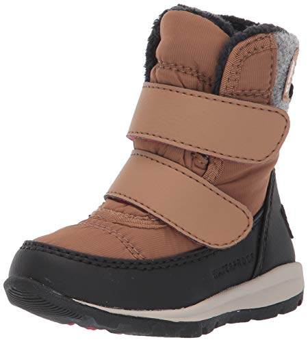 Sorel - Youth Whitney Strap Waterproof Insulated Winter Boot for Kids, Elk, 6 M US