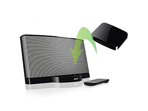 REYTID Adaptador de Receptor inalámbrico idock Bluetooth 4.0 con aptx Compatible con Estaciones de Acoplamiento iPod - transmitir música de Forma inalámbrica Desde su teléfono/Tableta/iPod/altav