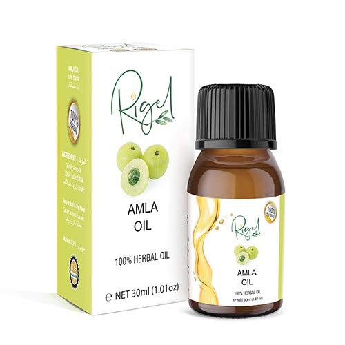 RIGEL - 100% Herbal Amla Oil   Remedy For Weak Hair   Ayurvedic Treatment - 30ml