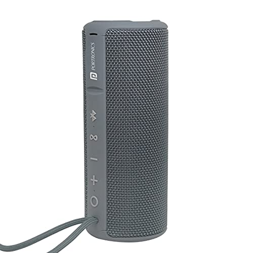 Portronics Breeze Plus 20W Bluetooth Portable Stereo Speaker with TWS, Aux in,...