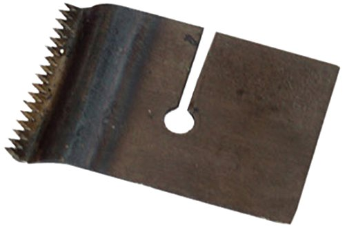 BONUS Eurotech 3AY00.20.0025/0015A verwisselbaar metalen mes, gekarteld, voor dispenser D1/25TN, breedte 25 mm