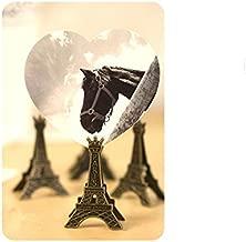 Eiffel Tower Clip - 1 Piece Eiffel Tower Paris Metal Memo Paper Clips for Message Decoration Photo Office Supplies Accessories - 2x3.5x5cm