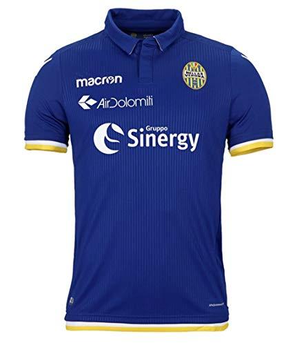 Hellas Verona FC HVR01 Herren-Trikot, Marineblau/Weiß, M