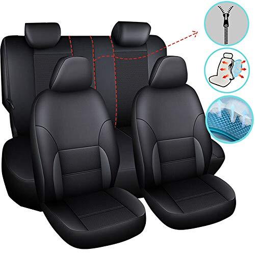 Coprisedili universali per auto, in pelle, impermeabile, accessorio per autovetture, per limousine, camion, pickup, SUV, per cani