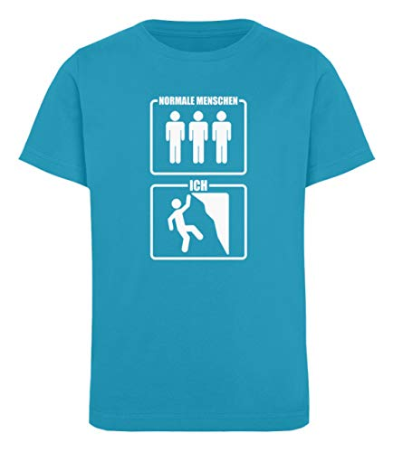 Klettern: Kletterer sind Cooler - Kinder Organic T-Shirt -12/14 (152/164)-