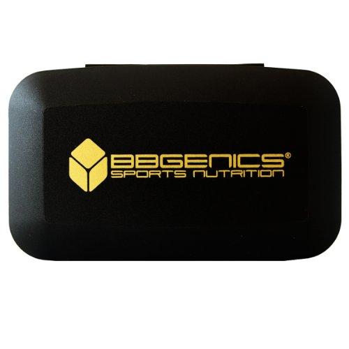 BBGenics - Pillenbox / Pillendose - Aufbewahrung mit 5 Fächern