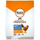 NUTRO WHOLESOME ESSENTIALS Senior Indoor Natural Dry Cat Food for Healthy Weight Farm-Raised Chicken...