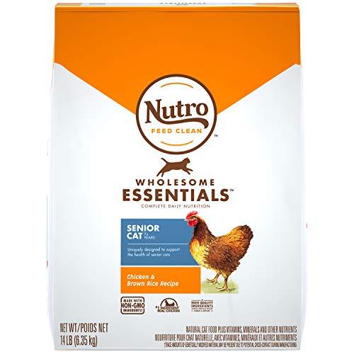 Nutro Senior Dry Food Indoor Cat