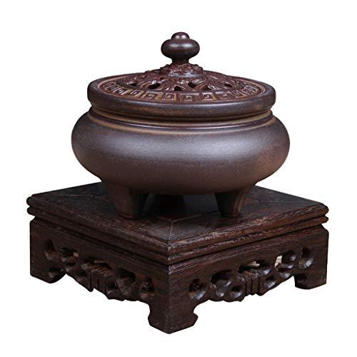 Best Review Of Burner incense burner WJBH Three-legged Incense Burner Sandalwood Furnace IncenseSand...