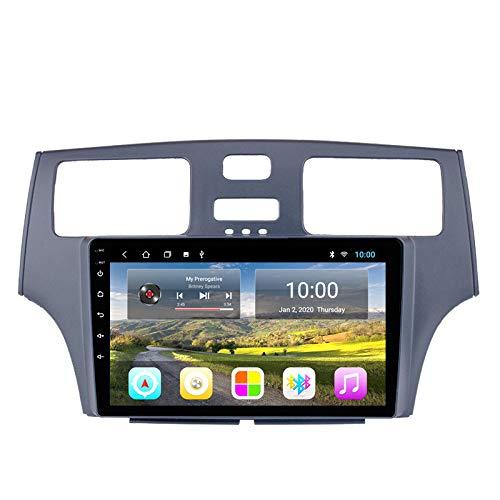 Benature Android Car Sat Nav para Lexus ES330 / 250/300 Unidad Principal Sistema De Navegación GPS SWC 4G WiFi BT USB AUX Radio Mapa Dispositivo De Navegador Satelital
