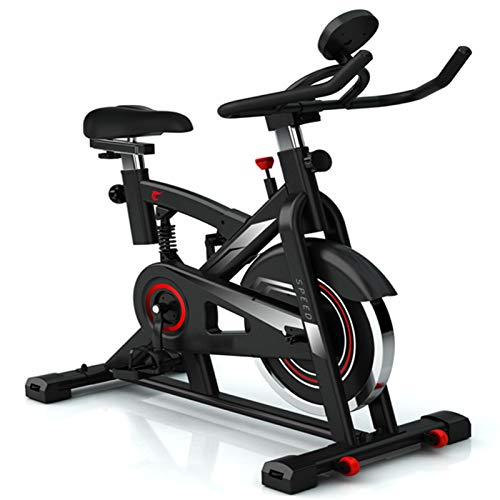 LJJ Cubierta de Bicicletas Máquinas de Ejercicios, Pérdida de Peso Silencio Home Fitness Equipment Cómodo Asiento Cardio-formación