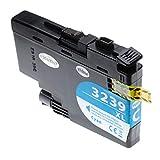 vhbw cartuccia d'inchiostro stampante ciano 52ml con chip compatibile con brother hl-j6000dw, hl-j6100dw, mfc-j5945dw, mfc-j6945dw, mfc-j6947dw
