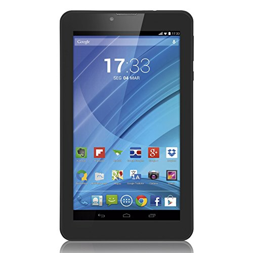 Multilaser NB223 TABLET M7 3G QC, Preto