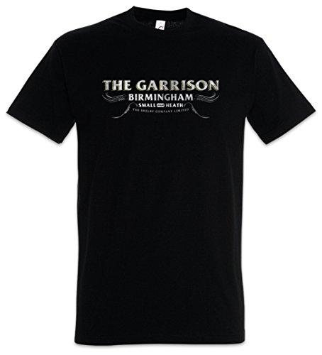 Urban Backwoods The Garrison Herren T-Shirt Schwarz Größe 2XL