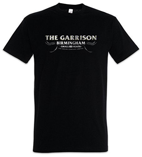 Urban Backwoods The Garrison Camiseta De Hombre T-Shirt Negro Talla 4XL