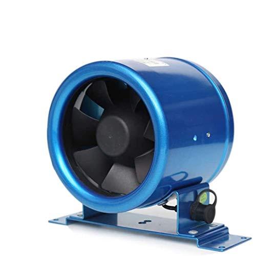 Fashio Ø125mm Mixta Quiet Flow línea de conducto Extractor de Humos Ventilador de ventilación for el baño, Oficina, Hotel, Hall, Sala hidropónica (Volumen de Aire: 280m³ / h, 18W)