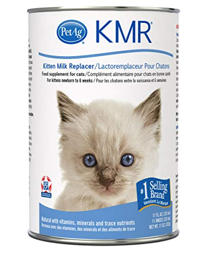 KMR Liquid Replacer for Kittens & Cats, 11oz Can