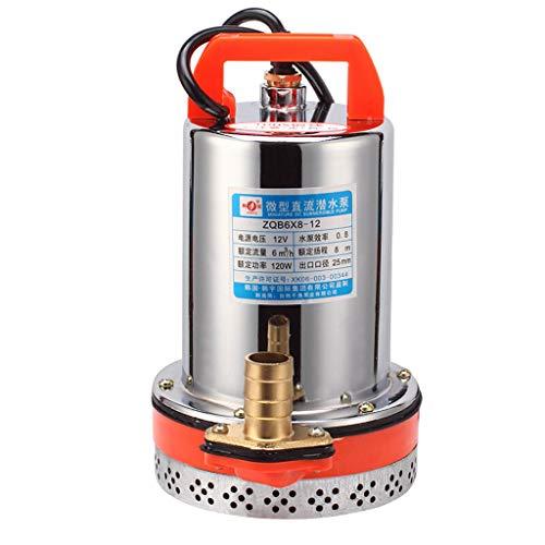 JD 48 V DC Pompe Submersible ménage Batterie agricole Batterie Pompe Voiture électrique Pompe à Eau Pompe de pompage Marine Pompe à Eau 300 W Pompes (Color : 48V, Size : 300W)