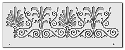 Wandschablone Bordüre 1 (40 x 15 cm)
