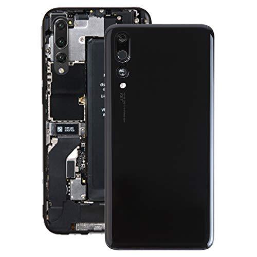 Bjhengxing Reemplace la Nueva Tapa Trasera de la batería, Calidad Original, fácil de Instalar, Tapa de la batería de indoración con Lente de cámara for Huawei P20 Pro (Negro) (Color : Black)