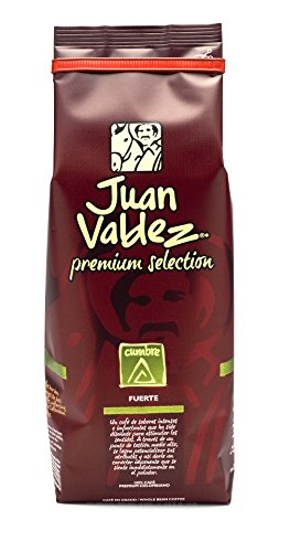 Juan Valdez Coffee Intense Cumbre Medium-Dark Roast Whole Bean Colombian Coffee 17.6 oz