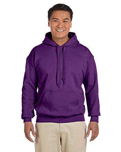 Gildan 18500 - Classic Fit Adult Hooded Sweatshirt Heavy Blend - First Quality - Purple - X-Large